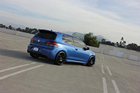 2012 Rising Blue Volkswagen Golf R
